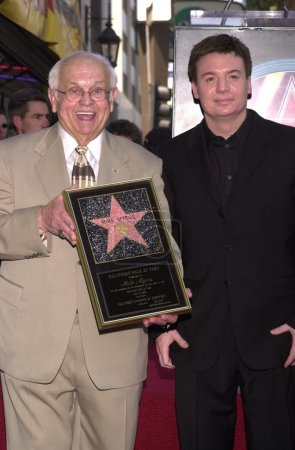 Johnny Grant and Mike Myers