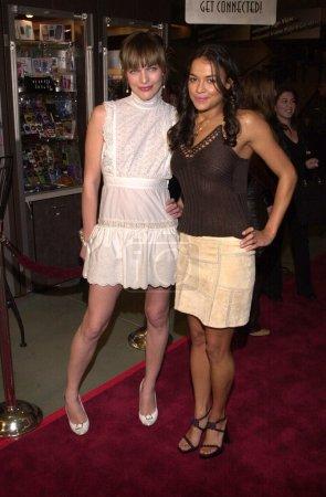 Milla Jovovich and Michelle Rodriguez