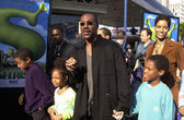 Eddie Murphy, Nicole Mitchell and family