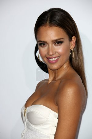 Jessica Alba at the 40th People's Choice Awards Arrivals, Nokia Theatre, Los Angeles, CA 01-08-14
