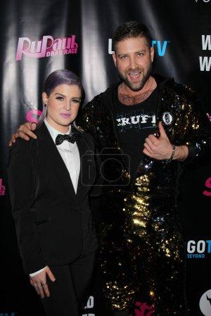 Kelly Osbourne and Johnny Scruff