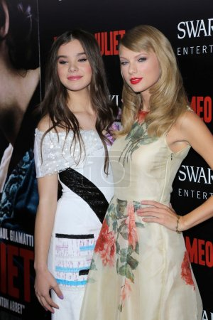 Taylor Swift and Hailee Steinfeld