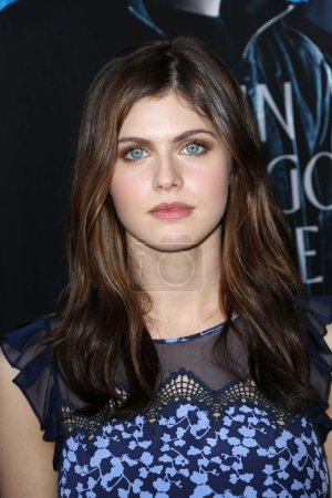 """Photo for Alexandra Daddario at the """"Percy Jackson: Sea of Monsters"""" Film Premiere, Americana at Brand, Glendale, CA 07-31-13 - Royalty Free Image"""