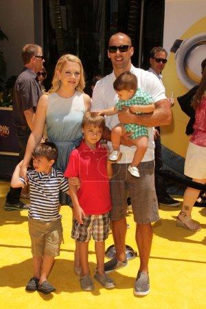Melissa Joan Hart and family