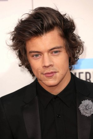 Photo for Harry Styles at the 2013 American Music Awards at the Nokia Theatre, LA Live. November 24, 2013 Los Angeles, CA - Royalty Free Image