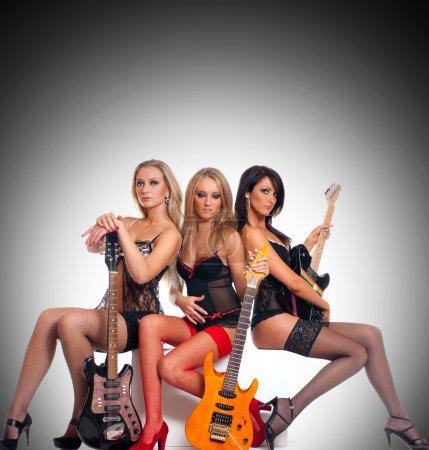 Sexy female music band