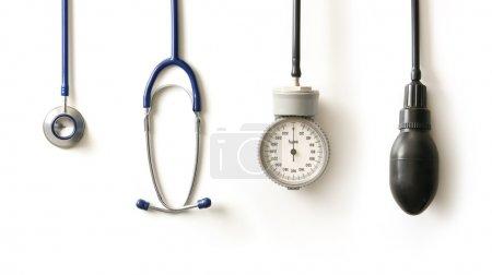 Photo for Stethoscope isolated on white - Royalty Free Image