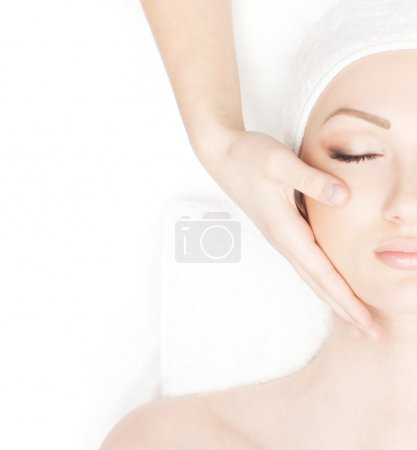 Photo for Young beautiful lady getting spa treatment - Royalty Free Image