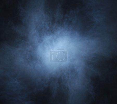 Dark blue smoke background image