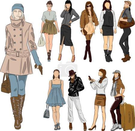 Illustration pour Mode - vecteur - image libre de droit