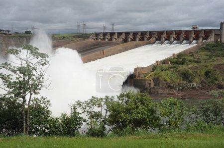 Hydropower Dam of Itaipu...