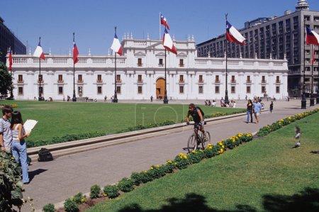 Photo pour Palais de la moneda - image libre de droit