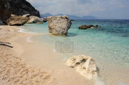 The beach of Cala Mariolu on the island of Sardinia, Italy