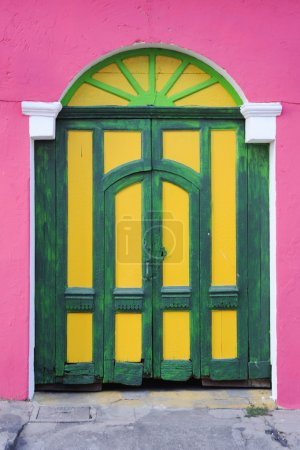 Colorfull front door at Suchitoto