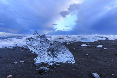 Iceland consists mainly of a plateau characterised...