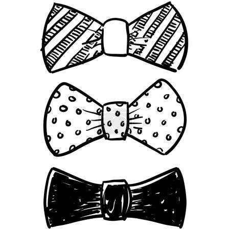 Bow tie sketch