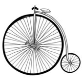 Antique bicycle sketch
