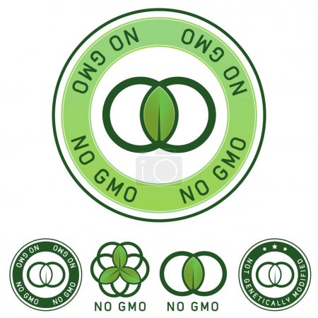 Not genetically modified food label