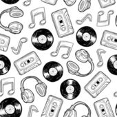 Seamless music media background