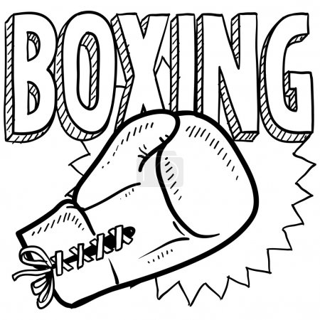 Boxing sketch