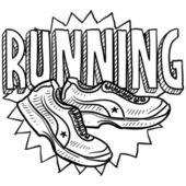 Running sketch