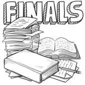 Final exams sketch