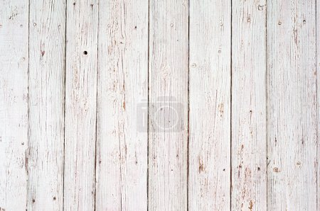 Photo for White wood texture background. old wood planks painted with white color - Royalty Free Image