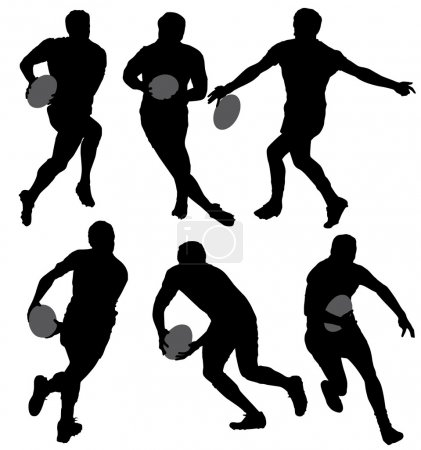 Rugby Silhouette