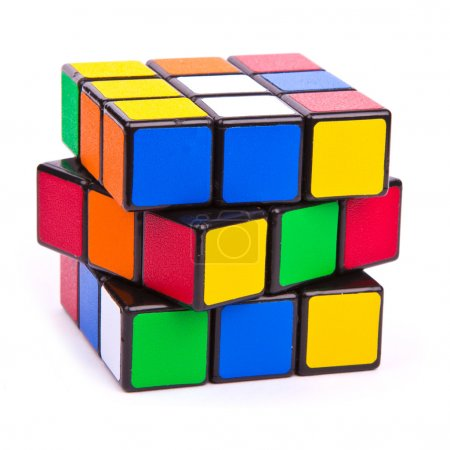 Photo for Puzzle cube - Royalty Free Image