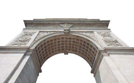 Photo pour Arch carré Washington (construit en 1889) à new York, ny. - image libre de droit
