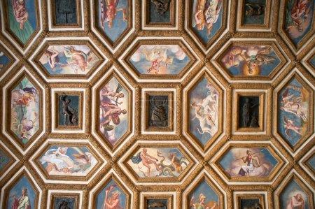 Palazzo Te ancient ceiling, Mantua, Italy