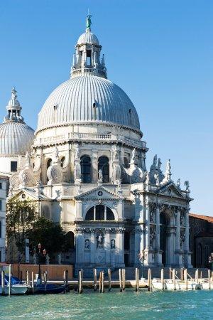 The Basilica Santa Maria della Salute, daytime. Grand canal. Venice, Italy