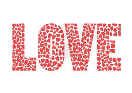 Illustration pour L'amour - image libre de droit