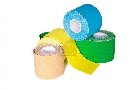 special kinesio tape rolling