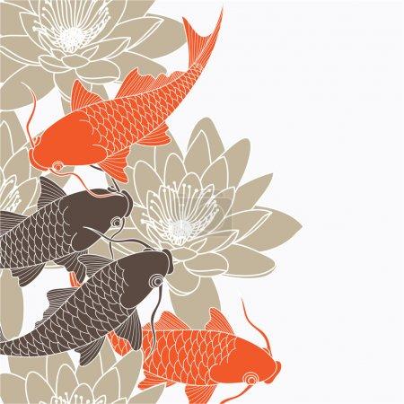 Illustration for Chinese background - Royalty Free Image