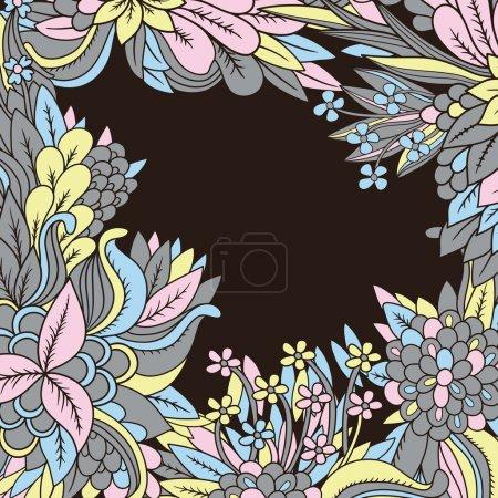 Illustration pour Floral fond - image libre de droit