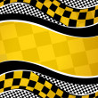 Vector checkered racing background. EPS10...