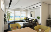 Sea View Bright Living Room