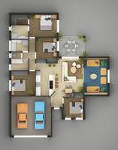 Floor Plan Of Residential House