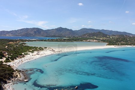 Villasimius, porto giunco beach