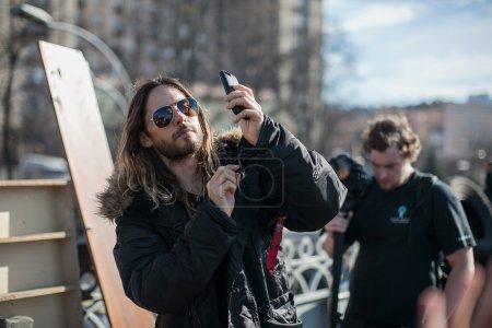 Jared Leto in Ukraine
