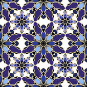 Decorative mosaic seamless pattern
