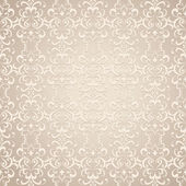 Seamless floral pattern old lace texture vintage beige background