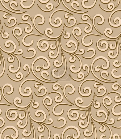 Abstract swirls pattern