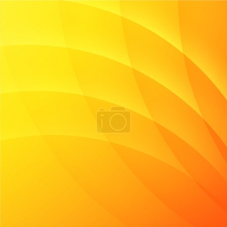 Illustration for Abstract yellow background for modern design - Royalty Free Image
