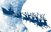 Slitta di Natale Babbo