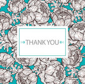 Sophisticated 'thank you' card