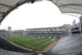 Home Depot Center before the MLS game