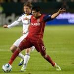 CARSON, CA. - NOV 6. Real Salt Lake midfielder Jav...