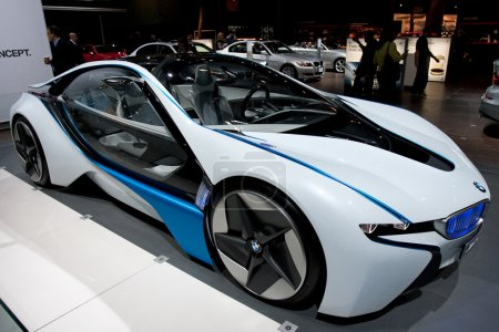 BMW Vision Efficient Dynamics Concept on display at Auto Show